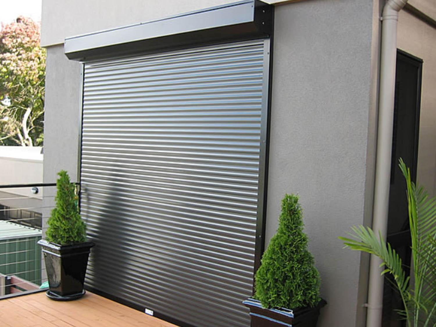 Commercial ECO Roller Shutters